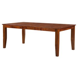 "78'' DINING TABLE W / 1 18"" LEAF"