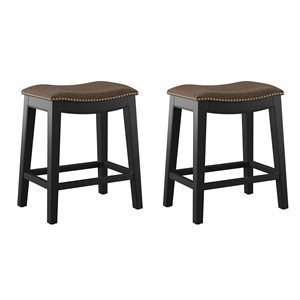 2PK 24'' BARSTOOL - BROWN