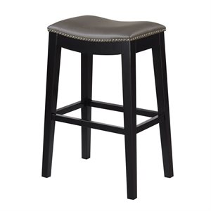 2PK 30'' BAR STOOL - GREY