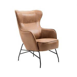 ACCENT CHAIR-SADDLE