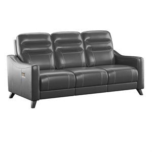 POWER SOFA W / POWER HEADREST-GREY