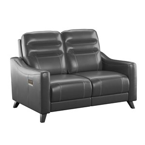 POWER LOVESEAT W / POWER HEADREST-GREY