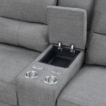 RSF POWER CONSOLE LOVESEAT - CHARCOAL